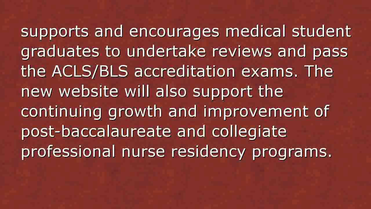 Ccne Us Launches A New Website For Acls Bls Certification In San