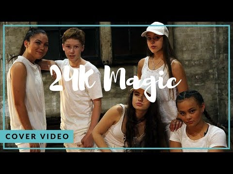 24k Magic  Bruno Mars Ky Baldwin HD