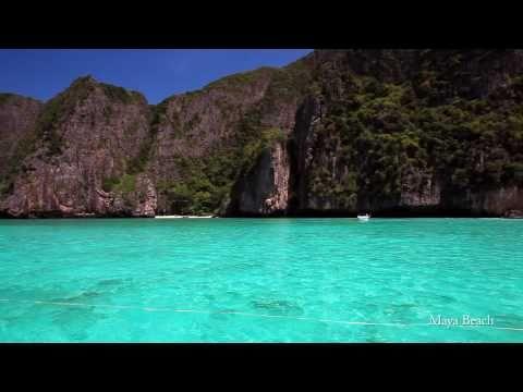 Amazing Blue Waters of Maya Bay, Koh Phi Phi, Phang Nga Bay | Phuket, Thailand (Canon 5D Mark II)