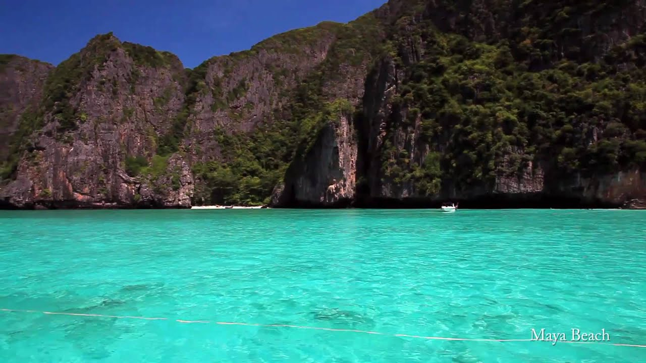 Amazing Blue Waters Of Maya Bay Koh Phi Phang Nga Et Thailand Canon 5d Mark Ii You