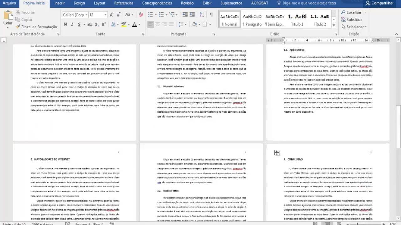 Word 2016 - Formatação de trabalhos ABNT (Parte 09 ...