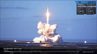 SpaceX Falcon Heavy - Highlights