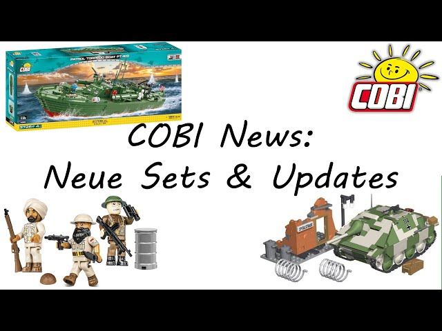 COBI News: Neue Sets, Minifiguren, Gerüchte & Updates (Hetzer, Krankenhauszelt, 2036, 2037, 4825)