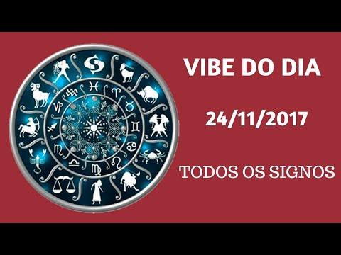 VIBE DO DIA 24/11/17 - TODOS OS SIGNOS