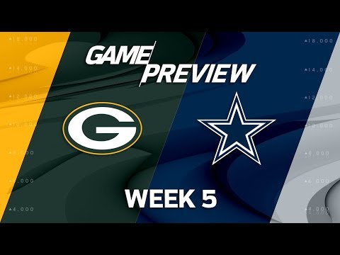 Green Bay Packers vs. Dallas Cowboys   Week 5 Game Preview   Move the Sticks