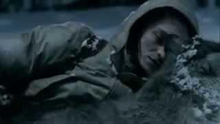 Удивительное видео волки спасли человека от холода...