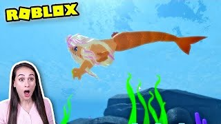 ROBLOX MAKO MERMAID - IK VERANDER IN EEN MAGISCHE ZEEMEERMIN IN ROBLOX! || Let's Play Wednesday