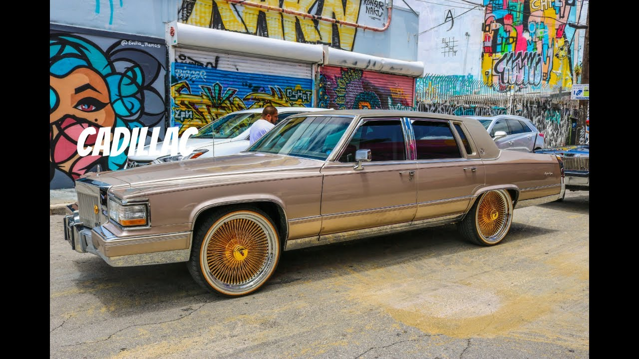 Cadillac Brougham On Dayton Wire Wheels In Hd Must See