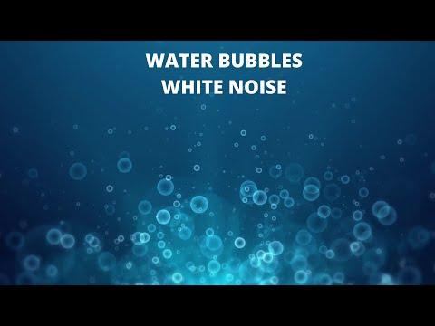 Water Bubbles Underwater