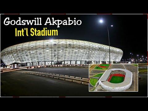 Godswill Akpabio Int'l Stadium, Uyo | Nigeria Vs Athletico Madrid