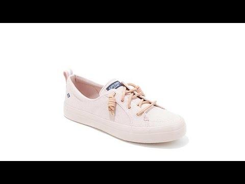 6383e96bc52 Sperry Crest Vibe Flooded Canvas SlipOn Sneaker - YouTube