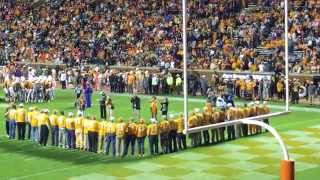 University of Tennessee class of 1965 football team honored