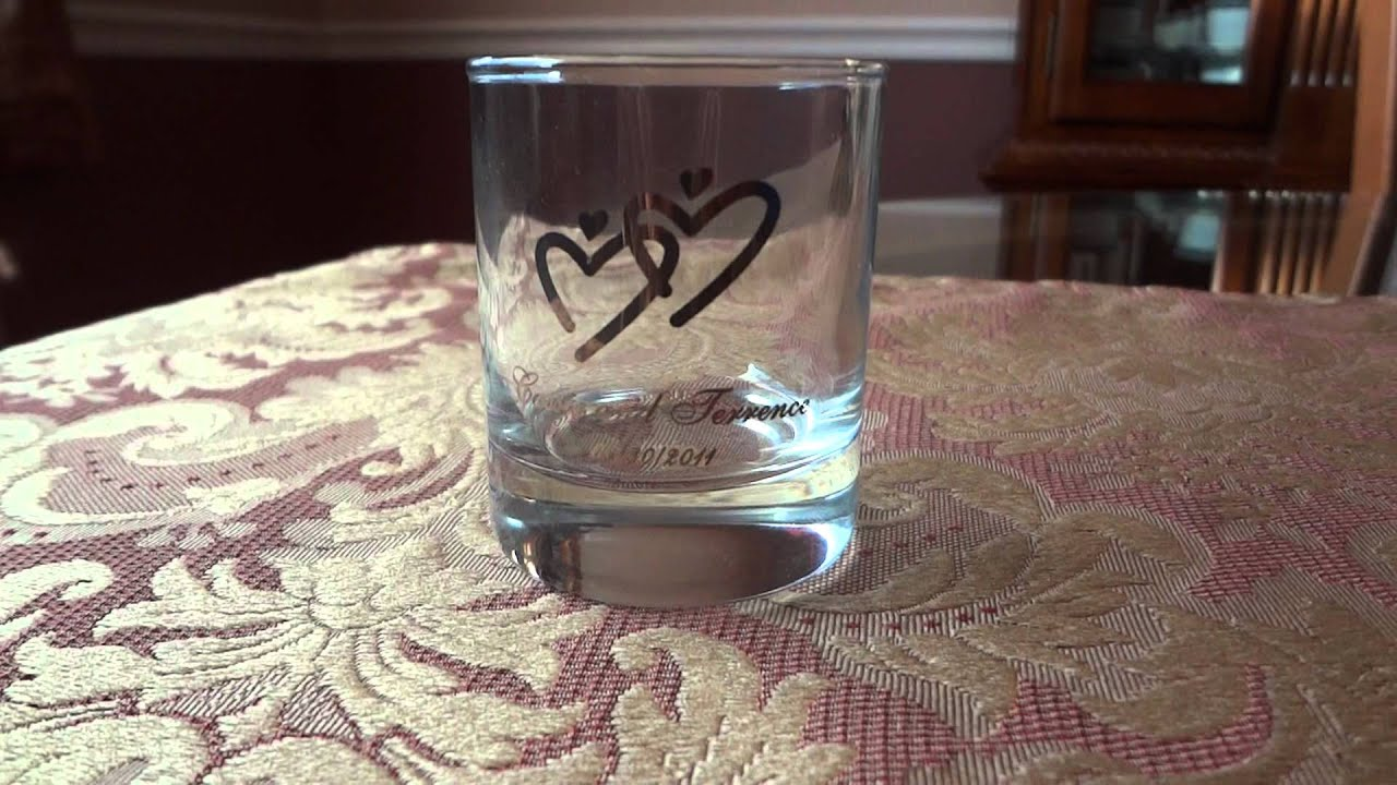 Personalized Shot Glass Wedding Favors With Custom Printing Youtube