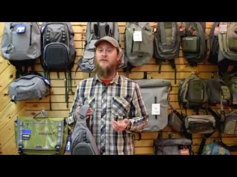 The Bozeman Angler Reviews Patagonia's Stealth Atom Sling Pack