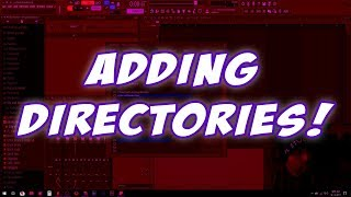 How To Add Directories To FL Studio ( Link To External HDD's! )