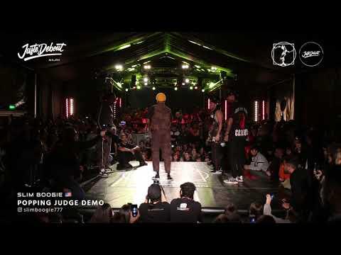 Slim Boogie - Judge demo Juste Debout Milan 2020