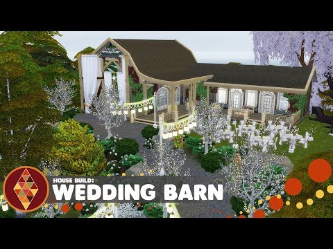Wedding Barn - The Sims 4 - House Build | HD thumbnail