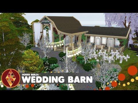 Wedding Barn - The Sims 4 - House Build | HD thumbnail