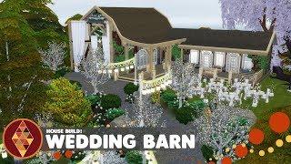 Wedding Barn - The Sims 4 - House Build   HD