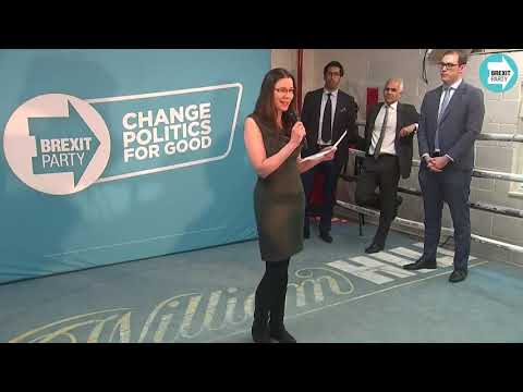EMMA STOCKDALE  West Ham Constituency BREXIT PARTY CANDIDATE  GE2019