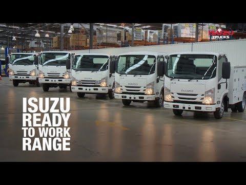 Isuzu N Series Servicepack Range Walkaround: Isuzu Australia Limited