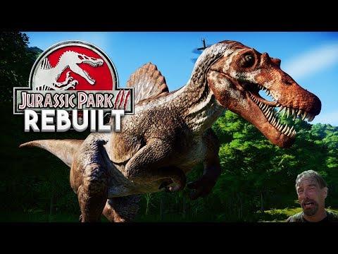 REBUILDING JURASSIC PARK 3! NEW PARK | Jurassic Park 3 Rebuilt (Jurassic World: Evolution)