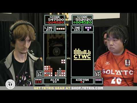 Top 16 - 2017 Classic Tetris World Championship Episode 2