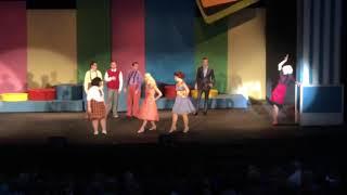 "Mollie Downes sings ""The Legend of Miss Baltimore Crabs"" as Velma Vun Tussle in ""Hairspray"""