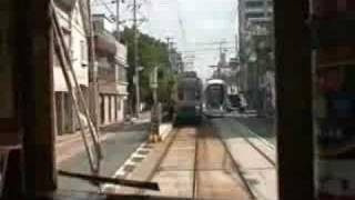 広島電鉄1号電車650形652号(広島港~元宇品口・宇品五丁目~宇品三丁目)