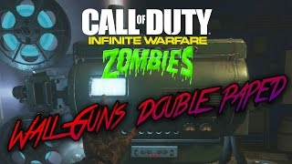 ZOMBIES IN SPACELAND - ALL WALL WEAPONS DOUBLE PACK A PUNCHED GAMEPLAY (Infinite Warfare Zombies)