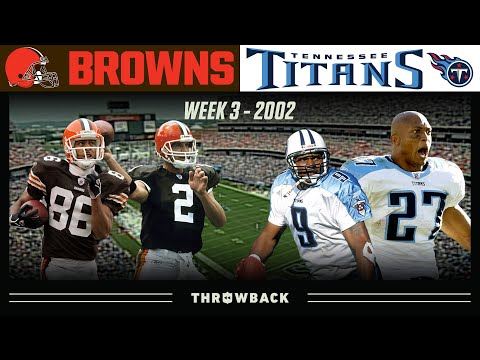 A Nashville Stunner! (Browns vs. Titans 2002, Week 3)