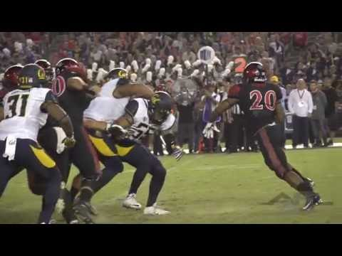 2016 San Diego State vs Cal Football Highlights