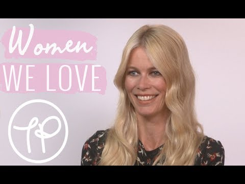 Claudia Schiffer | The Pool Meets | Beauty