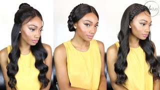 1 WIG - 3 LOOKS {SUMMER, WEDDING & SCHOOL HAIRSTYLE INSPIRATION} | A GENEVIEVE MAGAZINE EXCLUSIVE!