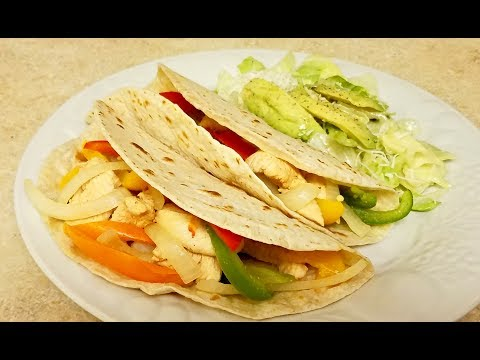 Easy Chicken Taco Recipe - Easy Dinner Recipe