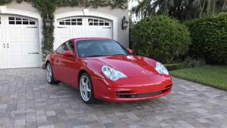 2003 Porsche 911 Carrera Coupe 996 Review and Test Drive by Bill - Auto Europa Naples