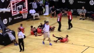 Small Fry Basketball 2015 International Playoffs - Final Four, Game 1 - Robert Taylor vs  Ponce