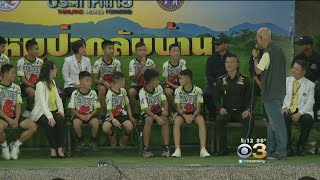Thai Soccer Team Rescued From Cave Speaks Out