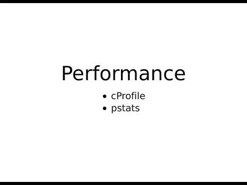 Image from Performances de Python