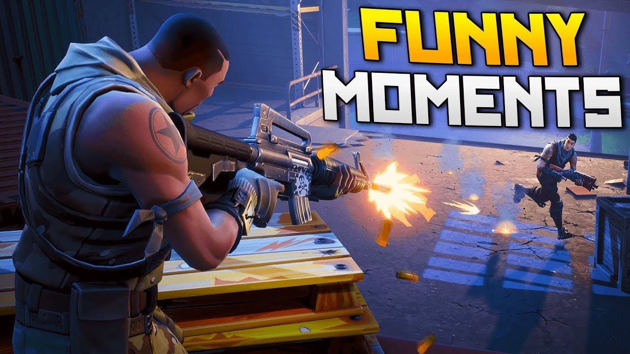 Fort Fail & Intense WIN!   Fortnite Battle Royale Humorous Moments
