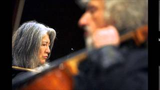 Argerich / Maisky, Beethoven Cello Sonata No.1 in F major Op.5