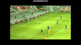 Uefa Europa League: Metalist - Olympiacos / Achtelfinale 08.03.12 / PES 2012
