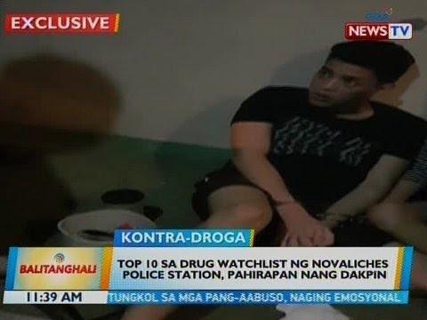 BT: Top 10 sa drug watchlist ng Novaliches Police Station, pahirapan nang dakpin