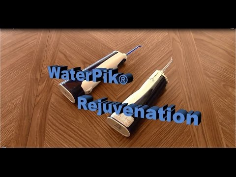 WaterPik WP-360 Battery Replacement & Lubrication Rejuvenation