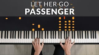 Passenger - Let Her Go | Tutorial of my Piano Cover
