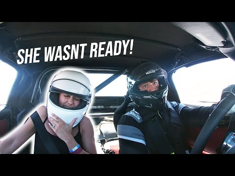 Scaring My Wife In My Honda S2000 Race Car! *HILARIOUS REACTION*