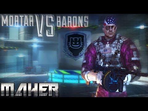 MC5 SQUAD BATTLE MORTAR VS BARONS MEMBERS Only Mask (MOR MAHER)