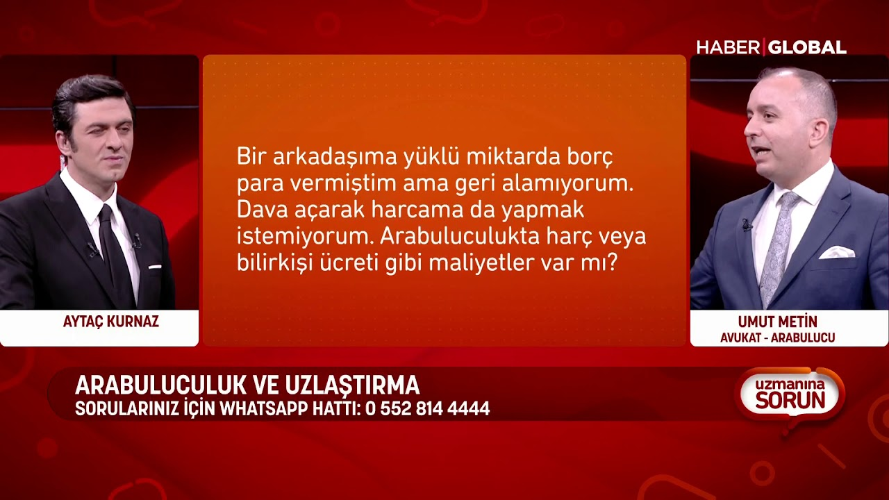 GBL president Umut Metin on TV show