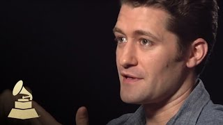 "Matthew Morrison Discusses ""Glee"" @theGRAMMYs 