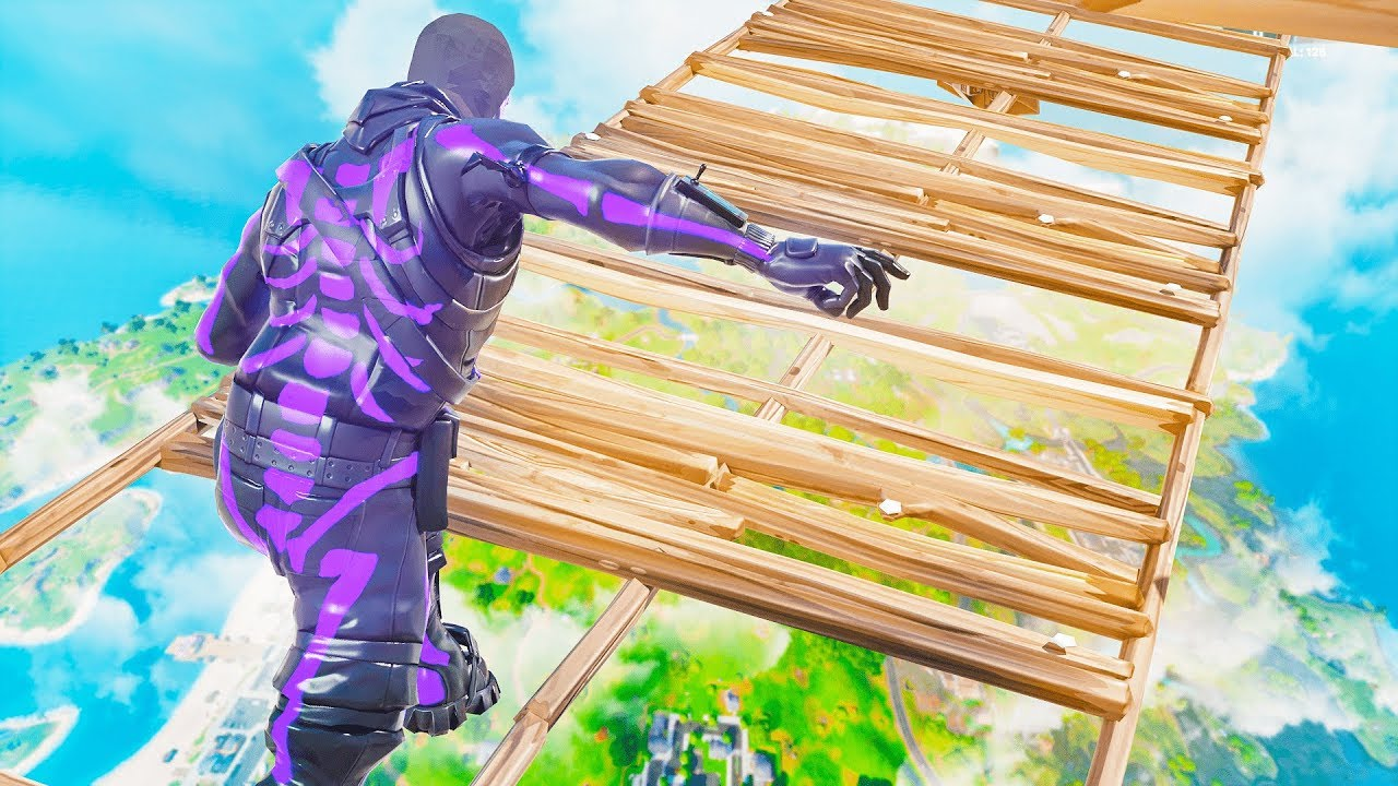 if i touch the floor in fortnite, the video ends